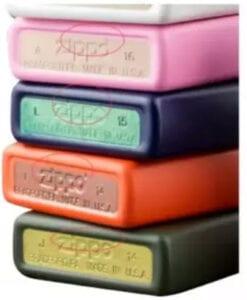 Zippo Taban Renk Farklılığı