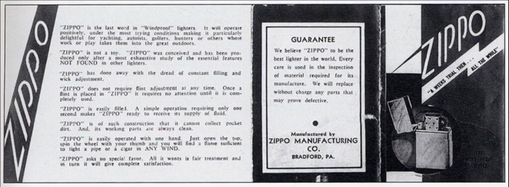 İlk Zippo Tanıtım